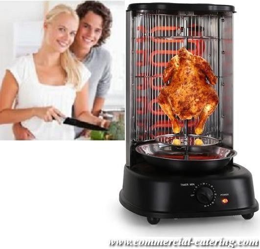 Mini Shawarma Doner Kebab Machine BBQ Skewers Home Garden ...