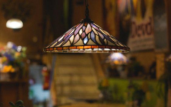 Tiffany-Lampe. Verspielt und trotzdem zeitlos