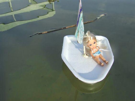 Hajó készítés gyerekekkel