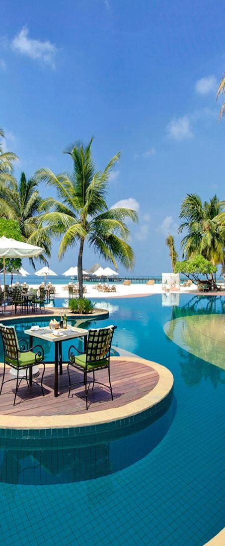 Kanuhura Resort... Maldives.  There are so many pictures of Maldives, looks like the most beautiful place in the world!