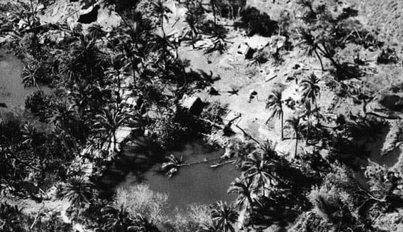 The Bhola Cyclone - 1970  Location: Bangladesh  Casualties: 500,000  The Bhola cyclone over Bangladesh and India was both the deadliest cyclone ever and is still one of the worst recorded natural disasters. At first, the photo looks like a nice aerial view of a tropical island, until you notice the uprooted palm tree laying in the middle of the pond.
