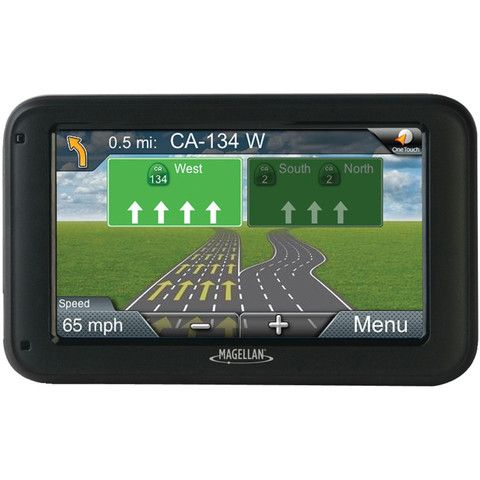 Magellan RoadMate 5255T-LM w//Lifetime Traffic /& Lifetime Maps and Back-Up Camera