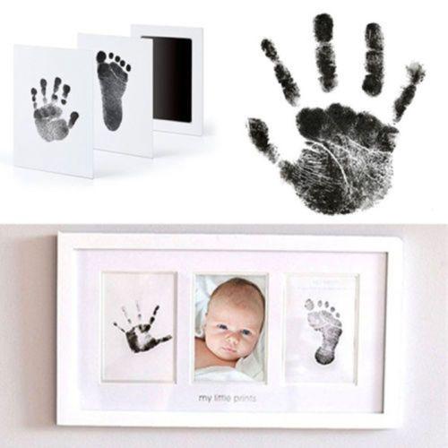 Baby Handprint Footprint Pad Newborn Clean Touch Ink Pad Souvenirs Hot
