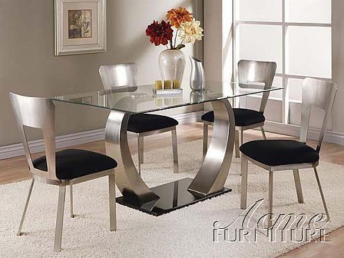 Wunderschone Glas Esszimmer Tisch Und Stuhle Glas Esszimmer Tisch