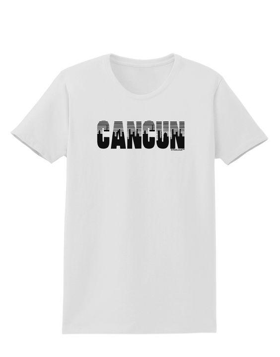 TooLoud Cancun Mexico - Cinco de Mayo Womens T-Shirt