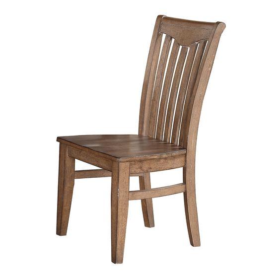Plessis Yoke Back Side Chair (Set of 2)