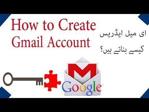 How To Create Gmail Account In Urdu Hindi Tutorial Create Accounting Tutorial