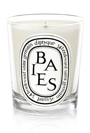 diptyque baies candle ... smells of roses and black current - a MUST for my home