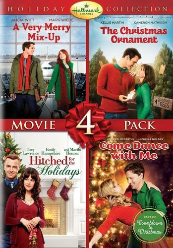 Best Buy Hallmark Holiday Collection Movie 4 Pack 2 Discs Dvd Hallmark Christmas Movies Christmas Movies Family Christmas Movies