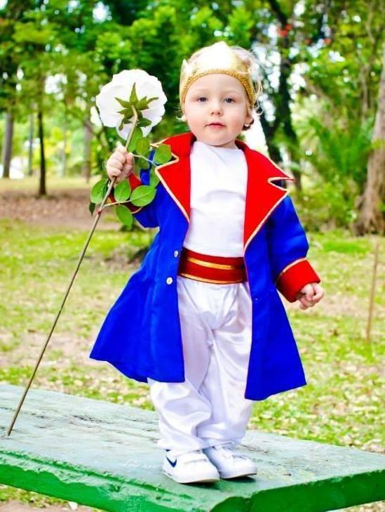 A fantasia de Pequeno Príncipe é super legal e dá para qualquer idade! #fantasias #carnaval:
