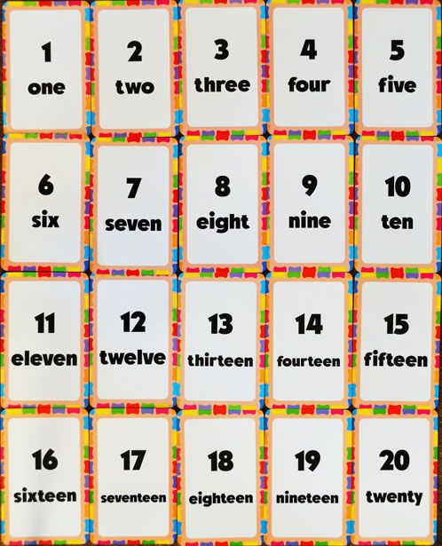 Printables Couting English number counting grid mamie pinterest worksheets and numbers grid