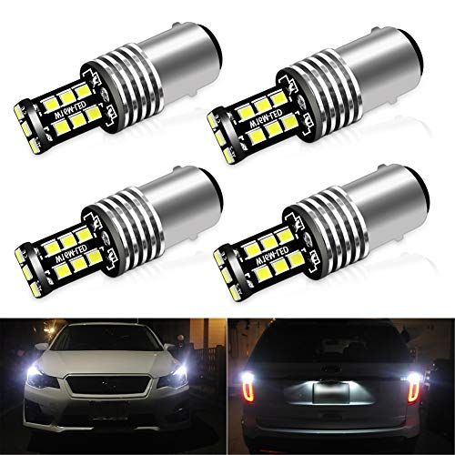 Ciihon 1157 Led Brake Lights Bulb Bay15d 2057 7528 15 2835smd Backup Reverse Rear Tail Light Bulbs White 6000k Extrem Camper Lights Light Bulb Lamp Light Bulbs