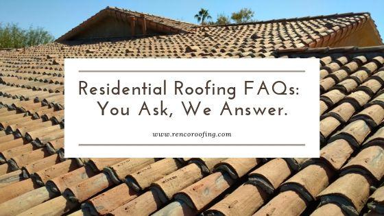 Roofing Blogs Renco Roofing Company Phoenix Az Roofing Roofing Companies Commercial Roofing Systems