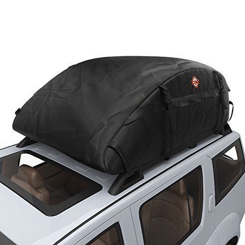 Adakiit Car Roof Bag Top Carrier Cargo Storage Rooftop Luggage Waterproof Soft Box Luggage Outdoor Water Resistant For Car With Racks Travel Touring Cars Vans Cargo Storage Cargo Carriers Cargo Carrier