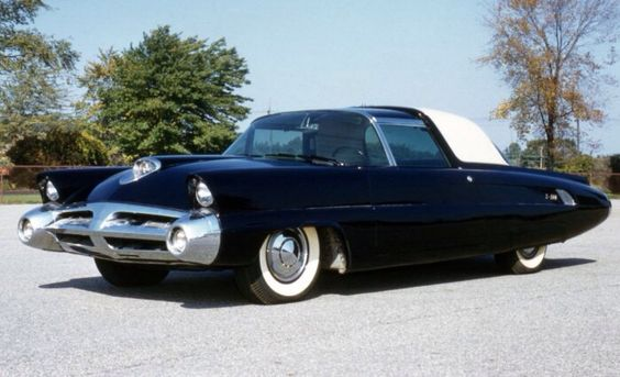1952 Lincoln X100 Concept and show car....