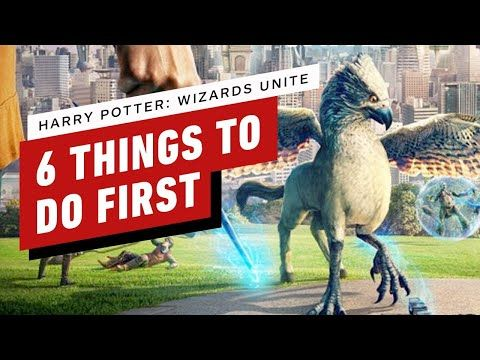 Harry Potter Wizards Unite 6 Things To Do First First Harry Potter Harry Potter Harry Potter Wizard
