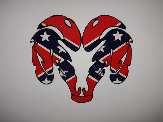 Dodge Ram Rebel FlagVinyl Vehicle Window Decal X - Rebel flag truck decals   how to purchase and get a great value safely