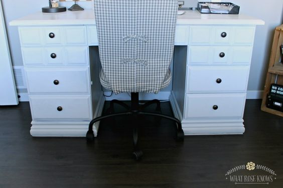 Desk Makeover With Menards Chalk Paint Dutch Boy Dimensions Chalky Finish Review To Be Back
