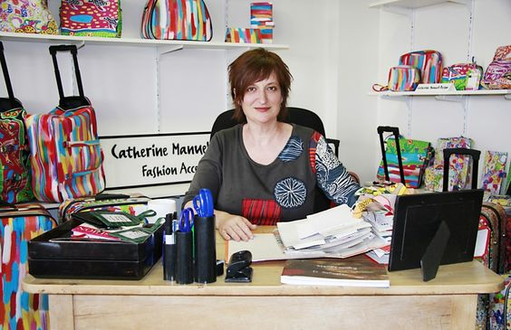 Business success story: Catherine Manuell Design. #Melbourne-based accessories designer Catherine Manuell produces more than 100 unique designs in #luggage, #handbags and other accessories each season, incorporating some striking works by Aboriginal artists. Here, Manuell shares her business story and explains why the #Aboriginal Artists Project is so special. Read more here: http://auspo.st/1rhm2fB #businessstory