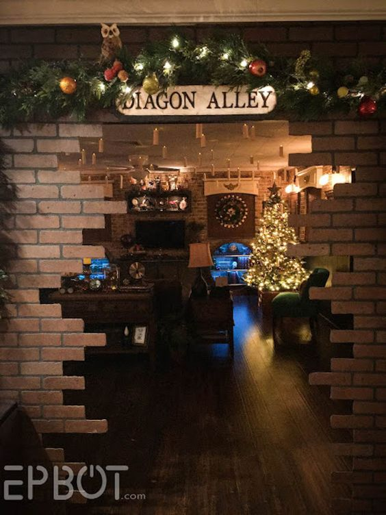 This Is How You Do A 'Harry Potter' Christmas Party, oh my god this is the best thing ever!: