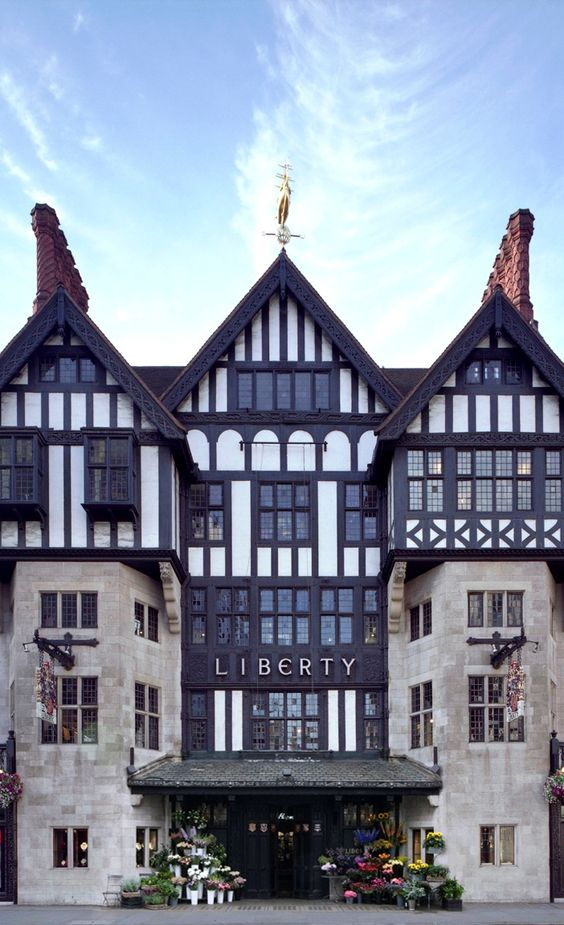 Is any #LFW complete without a  trip to see us? #LibertyLondon: