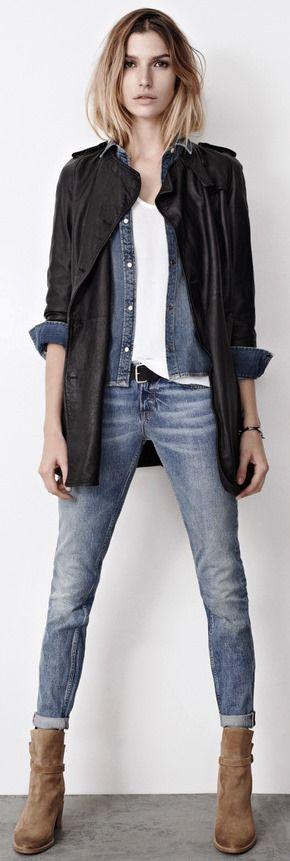 rockige stiefeletten lassen sich optimal zur jeans kombinieren schuhtrends stiefel damen. Black Bedroom Furniture Sets. Home Design Ideas