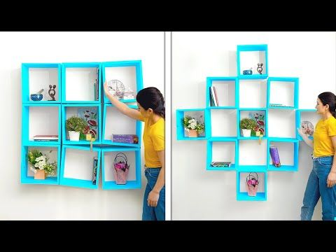 Cheap Yet Fantastic Home Decor Ideas That Will Amaze You Diy Furniture And Room Decor Youtube In 2021 Frame Crafts Diy Furniture Create And Craft