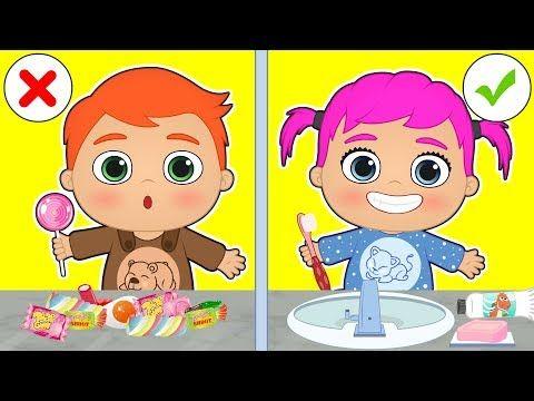 Bebes Alex Y Lily Aprende A Lavarte Los Dientes Antes De Ir A Dormir Dibujos Animados Educativos Youtube Me Voy A Dormir A Dormir Niños Dibujos Animados