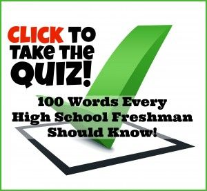 How to write a high school application quiz