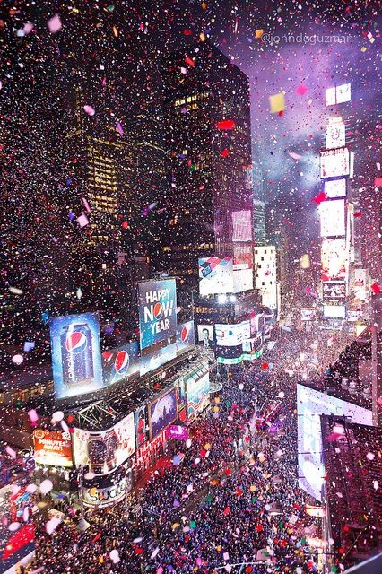A times square party is one of the best new years eve party theme ideas!