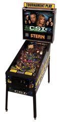 CSI: CRIME SCENE INVESTIGATION pinball machine. Designed by Pat Lawlor Design and Stern Pinball,
