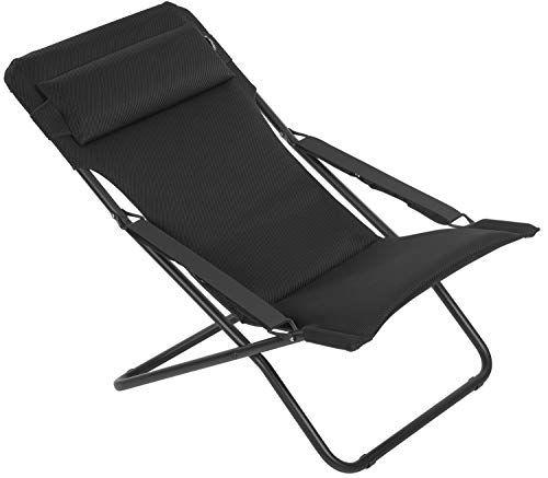 Offre Du Jour Lafuma Chaise Longue Jusqu A 40 De Reduction Bain De Soleil Chaise De Plage Pliante Chaises De Camping