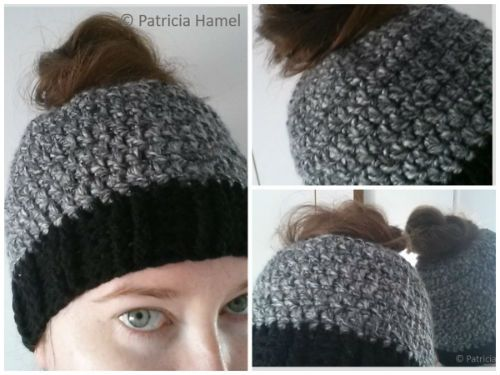 Free Crochet Patterns For Ponytail Hats : Free Crochet Ponytail Hat Pattern Crochet Ponytail Hat ...