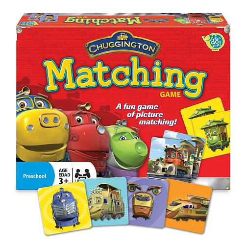 Chuggington Matching Game to play at the party