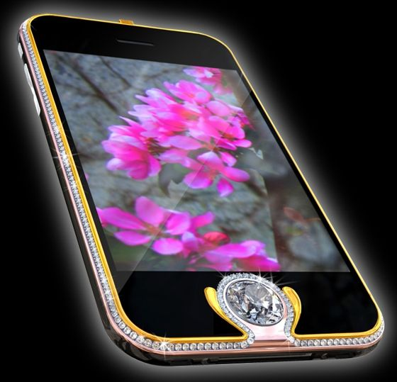iPhone 3G Kings Button, Price: $2.5 Million
