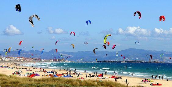 Playa de Valdevaqueros (Tarifa, Cádiz), by @vuelaviajes