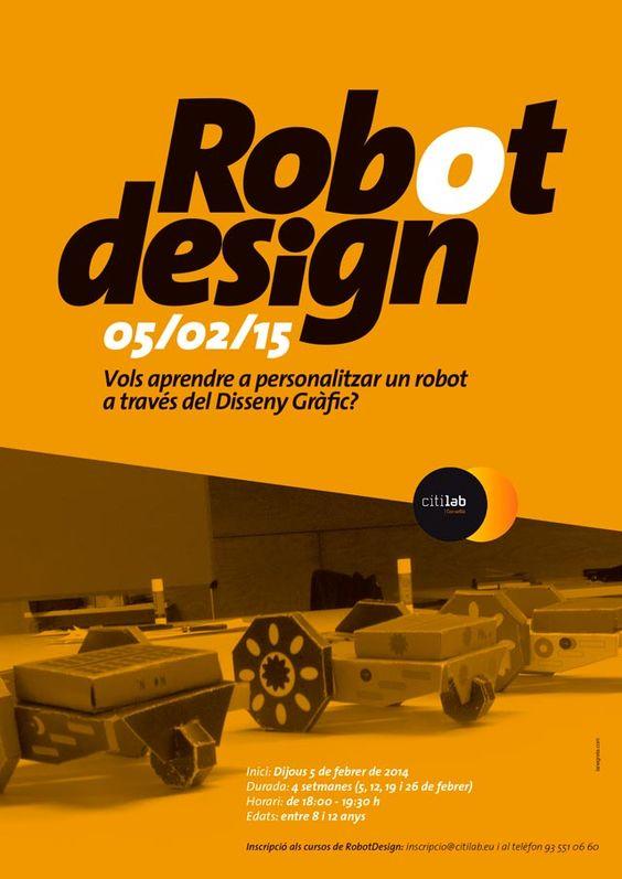 Darreres places pel taller Robot Design al Citilab