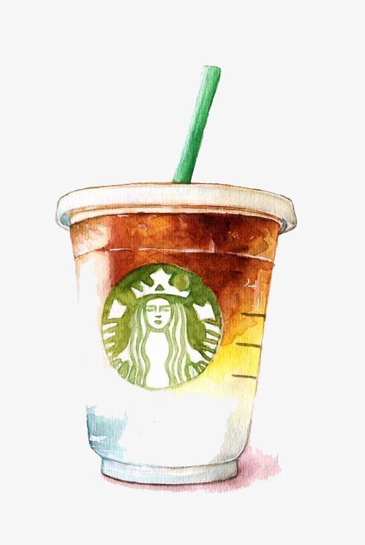 Starbuck Png Vector Psd And Clipart With Transparent Background For Free Download Pngtree Clip Art Starbucks Wallpaper Coffee Drawing
