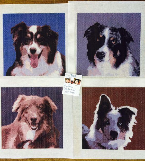 Cool Custom Dog Needlepoint Kits