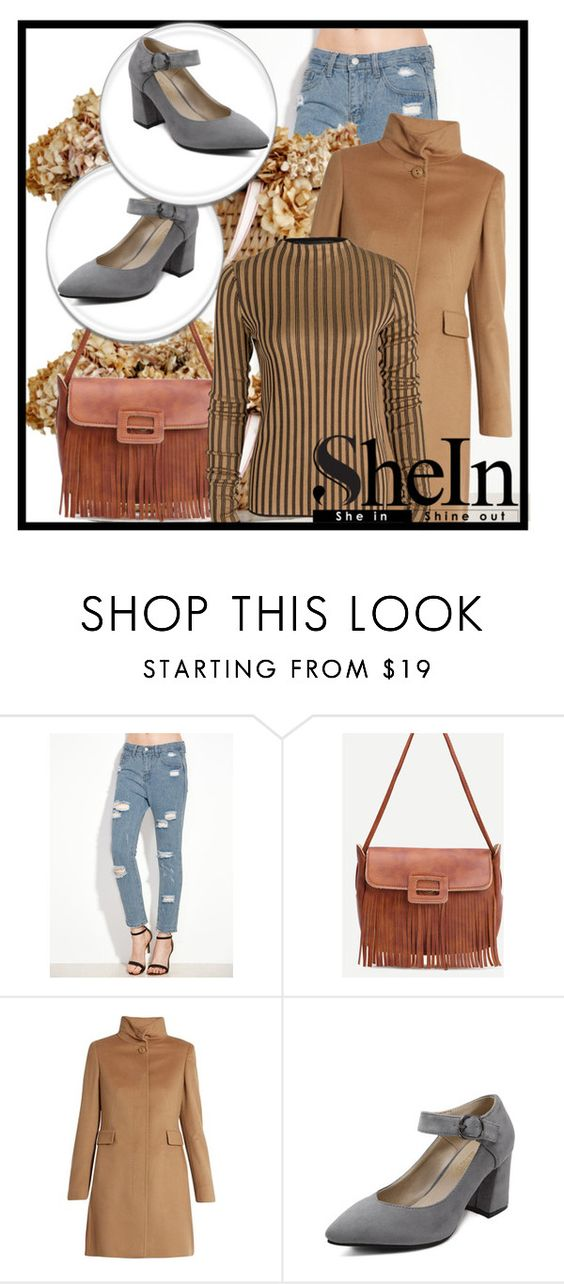 """""""Shein 5."""" by adelisamujkic ❤ liked on Polyvore featuring MaxMara"""