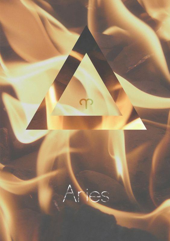 Aries Horoscope, Fire Sign. TETRAEDRO