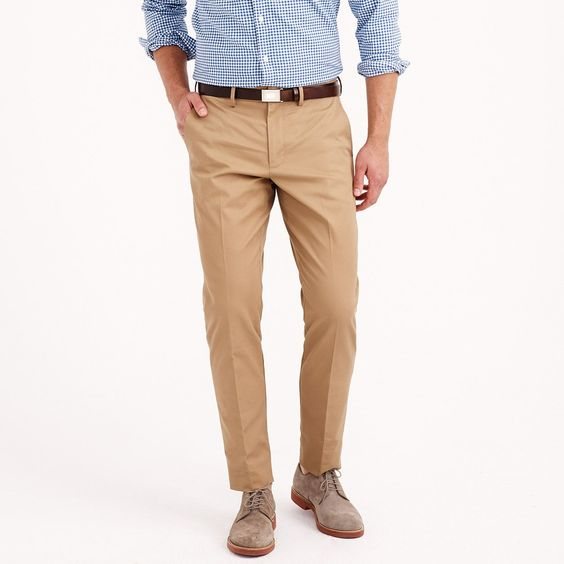 cotton twill pants men - Pi Pants