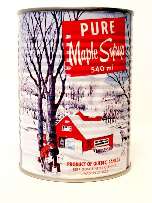 Maple Syrup Tin - 2004