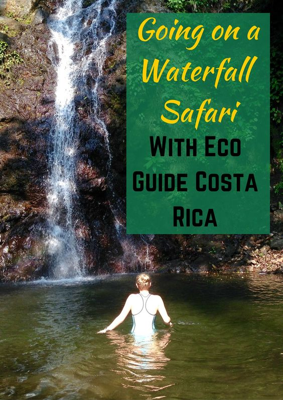 While in the adventurous #CostaRica we decided to be daredevils and go on a safari waterfall tour with Eco Guide Costa Rica. Only a few minutes outside Jaco lies a collection of amazing waterfalls perfect for waterfall exploration. So we grabbed our swimsuits and water shoes and headed off on an adventure!