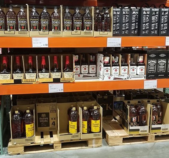 Seriously You Can Buy 4 Liter Bottles Of Whisky At Costco In Japan Costco Japan Japan Travel Party Costco