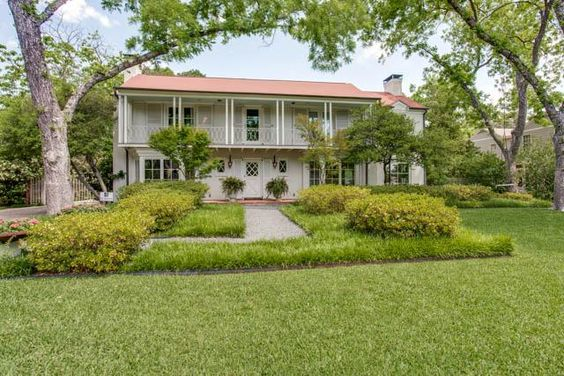 This gracious New Orleans style four bedroom, three and a half bathroom home sit on an oversized beautifully landscaped lot with pool, gazebo, and outdoor fireplace.