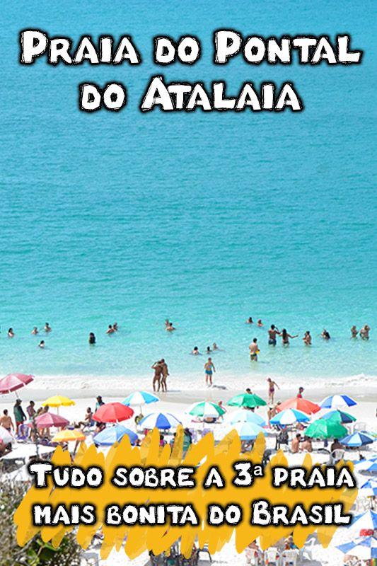 Prainhas Do Pontal Do Atalaia 3ª Praia Mais Bonita Do Brasil