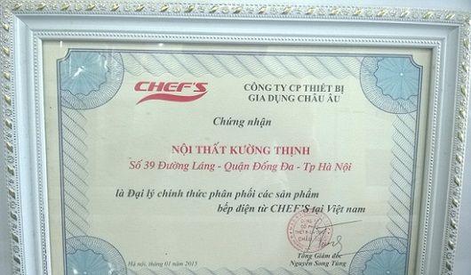 Mua bếp điện từ Chefs ở đâu chính hãng giá rẻ
