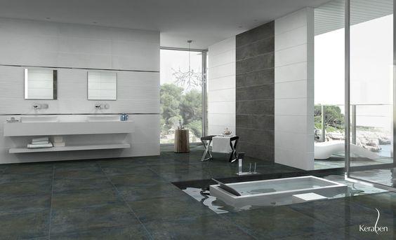 baño #diseño #cerámica #interiorismo #arquitectura #tiles #bath ... - Salle De Bain Ultra Moderne