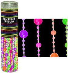 Multi-Color Disco Ball - Black Light Reactive - Door Beads